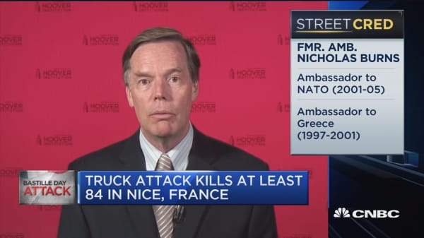 Fmr. Amb. Burns: Islamic State is clearly encouraging lone wolves