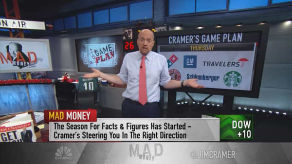 Cramer's game plan: Your best chance to make money in earnings season