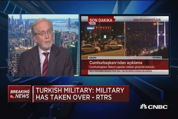 NBC's Windrem: Military have gained a lot of power very quickly