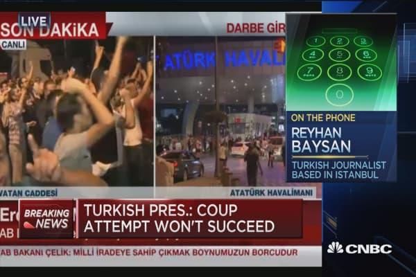 People are panicking: Turkish journalist