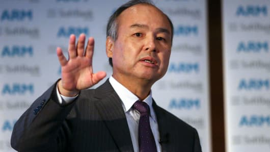 Masayoshi Son, chairman and chief executive officer of SoftBank Group