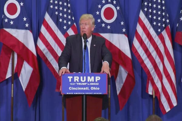 Trump shifts call on Muslim ban