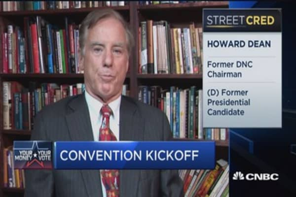 Howard Dean handicaps Clinton VP pick
