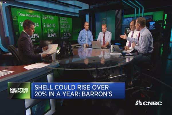 Debate it: Shell best oil stock?