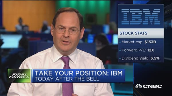 Take your position: IBM, Netflix and more