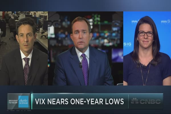 The mystery of the low VIX