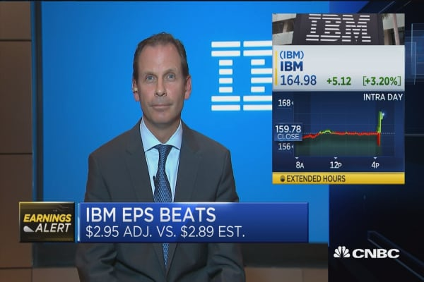 IBM CFO: We have a cloud-first approach