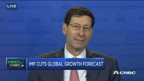 IMF chief economist on world markets