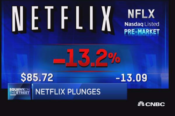 Cramer: Netflix had a disappointing quarter