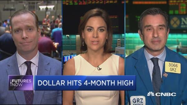 Dollar Hits 4-month high
