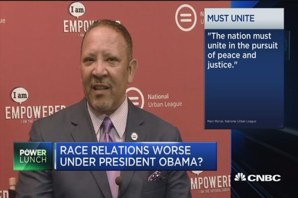 Cycle of violence in US: Marc Morial