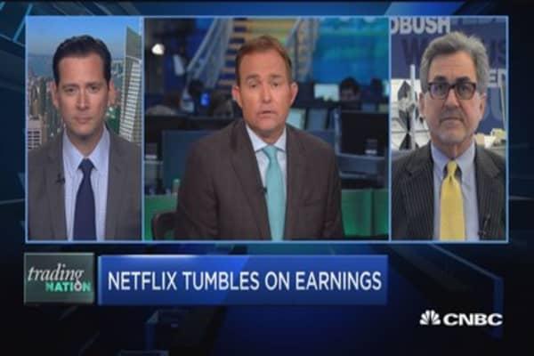 Netflix tumbles on earnings: Buying opportunity?