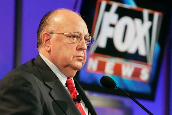 A file photo of Roger Ailes from July, 2006.