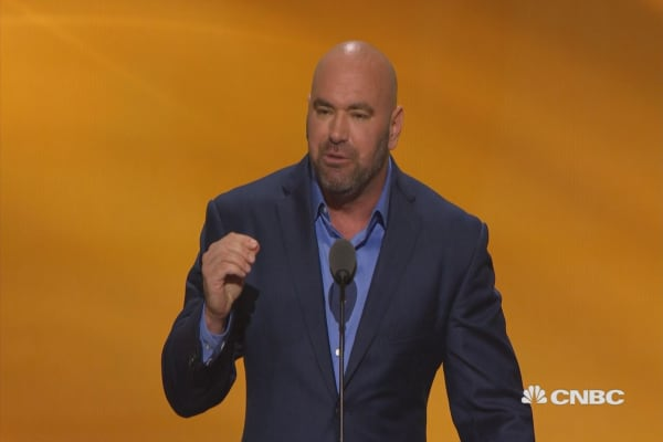 UFC's Dana White: Donald Trump is a fighter