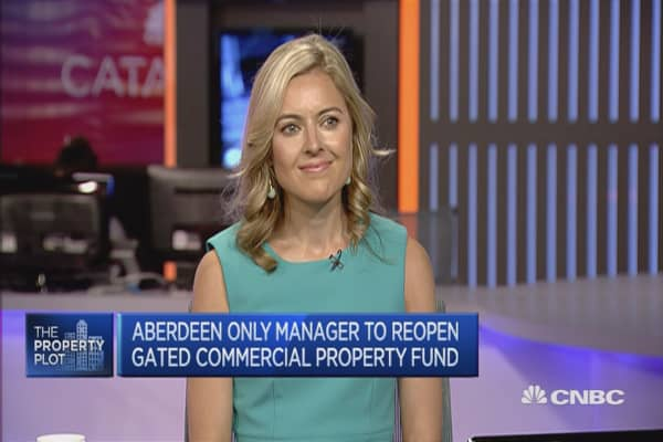 Aberdeen Asset Management reopens retail property fund