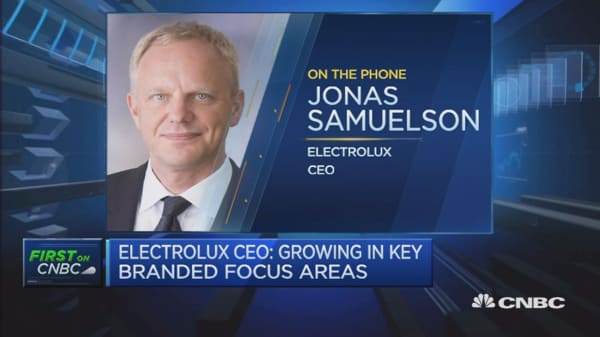 We're exposed to British pound: Electrolux CEO
