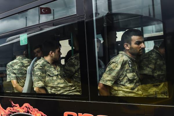 Turkey crackdown in numbers