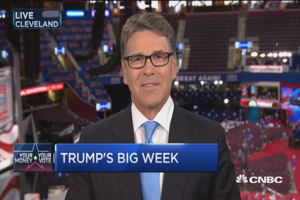 GOP has to pull together and be part of the team: Former Gov. Rick Perry