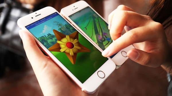 Pokemon Go on Apple iPhones