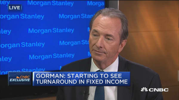 Morgan Stanley CEO: Clients, advisors stable