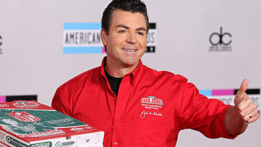 John Schnatter founder and ceo of Papa Johns