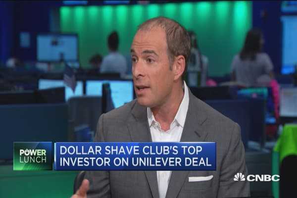 Dollar Shave Club's top investor on $1B deal