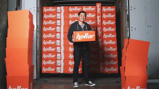 David Yeom, co-founder of Hollar