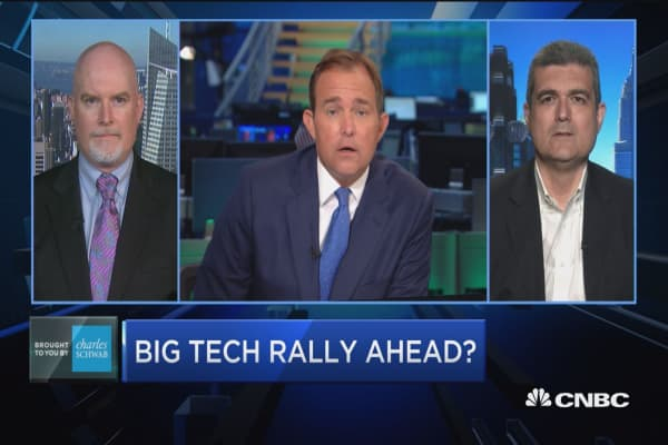 Is a big tech rally ahead?