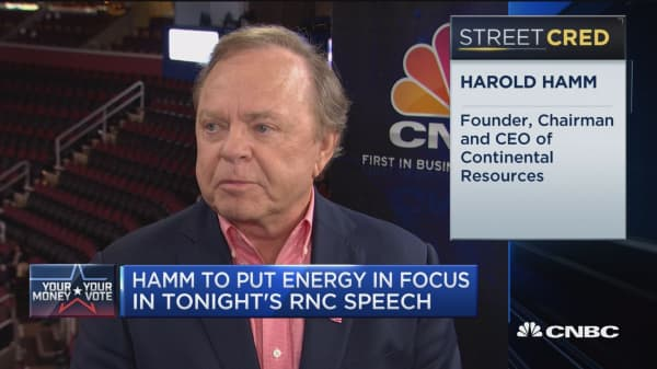 Hamm to put energy in focus in tonight's speech