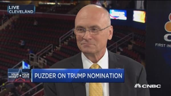 Puzder: A Trump economy beats Clinton's