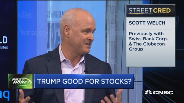 Trump good for stocks?