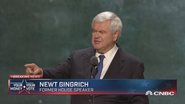 Gingrich: To protect the Constitution, vote for Trump