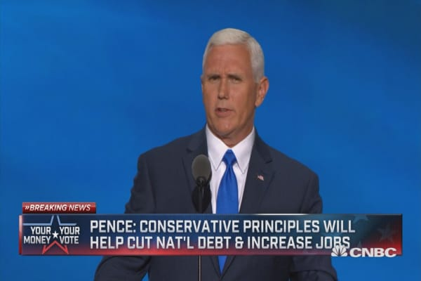 Mike Pence: Trump perseveres and does not quit