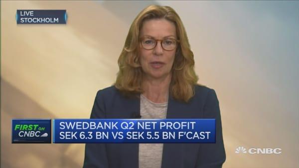 Swedish housing market is not a bubble: Swedbank CEO