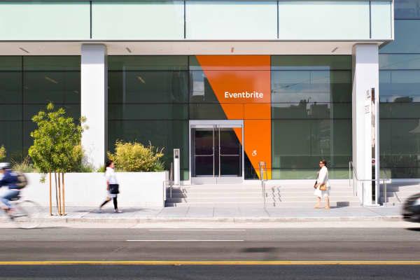 Eventbrite's headquarters in San Francisco, California.