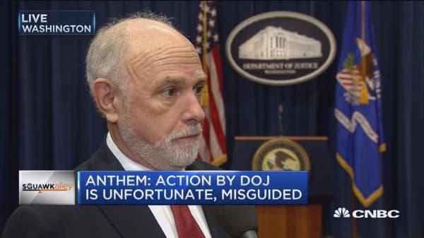 DOJ Antitrust Chief on health care mergers