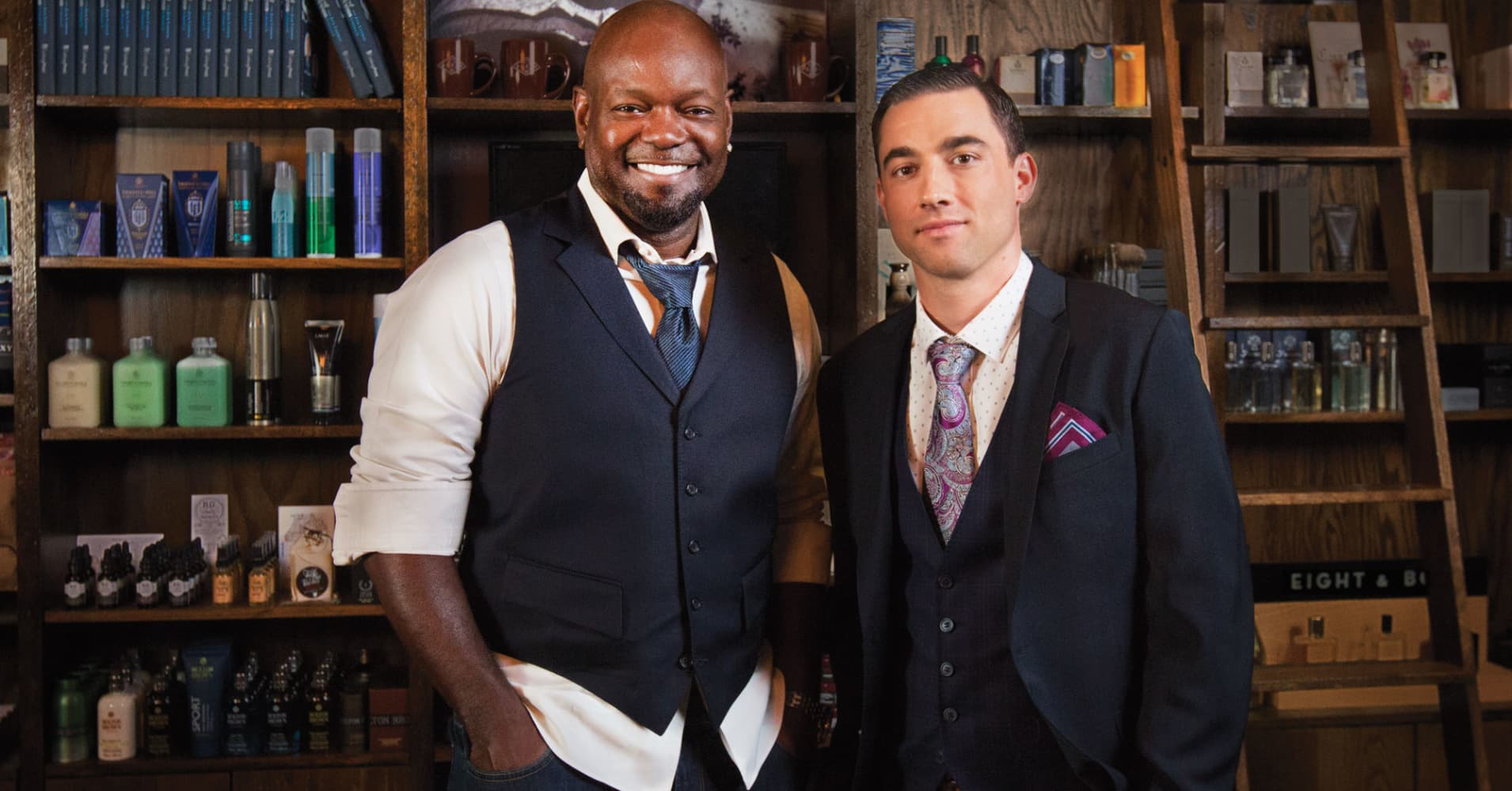 Emmitt Smith will serve as co-owner of The Gents Place alongside President Ben Davis