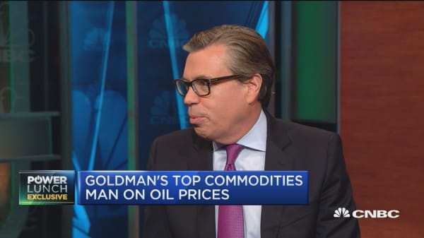 Goldman's top commodities man on gold prices