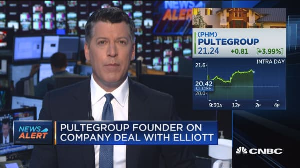 PULTE HIT WITH WAPNER