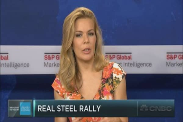 The real steel rally