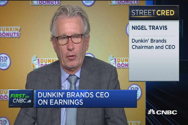 Dunkin' Brands CEO on earnings