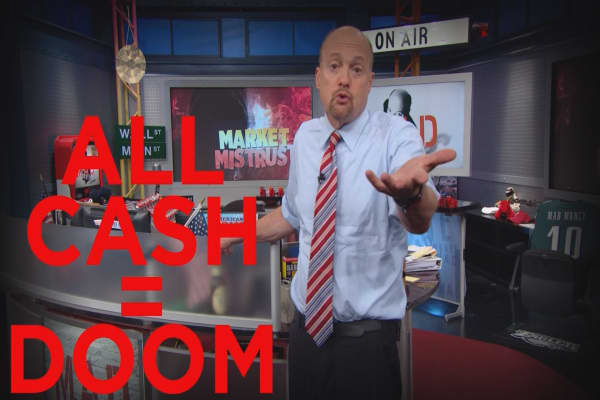 Cramer Remix: Are your savings all in cash? You're dooming yourself