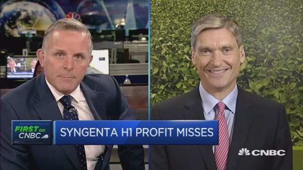 We'll close the ChemChina deal this year: Syngenta CEO