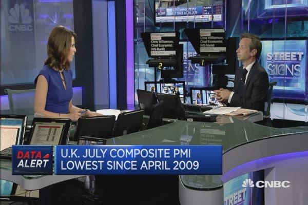 Mild UK recession on the horizon?