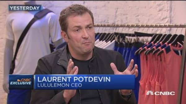 Lululemon CEO: Athleisure bubble will pop