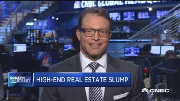 Hamptons real estate slump
