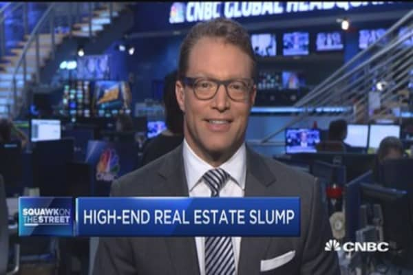 Hamptons real estate slump