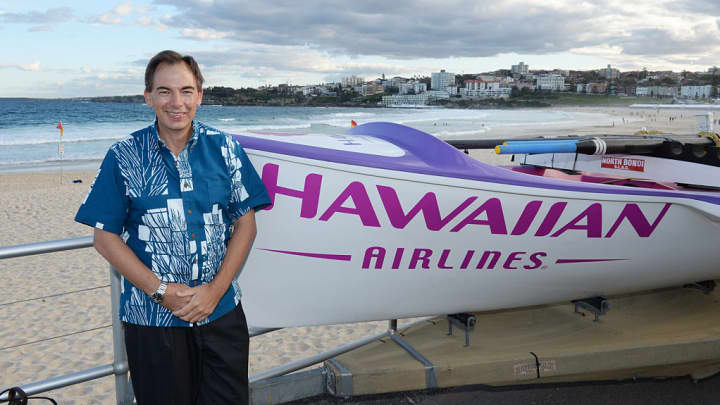 CEO of Hawaiian Airlines, Mark Dunkerley