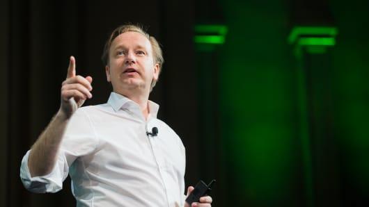 Heineken USA CEO Ronald den Elzen.