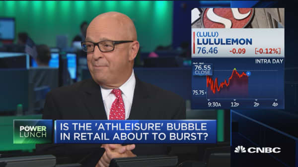 Will the athleisure bubble pop?